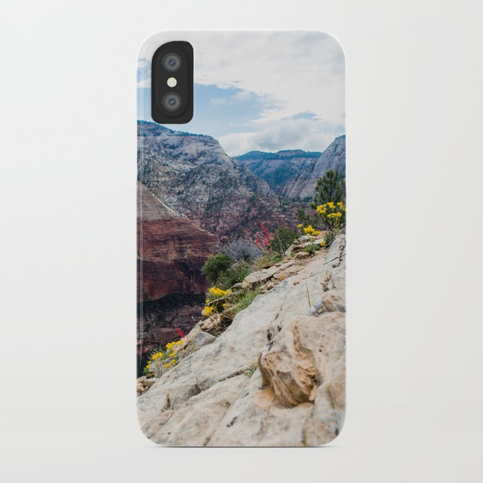 Zion National Park Wildflowers iPhone Case