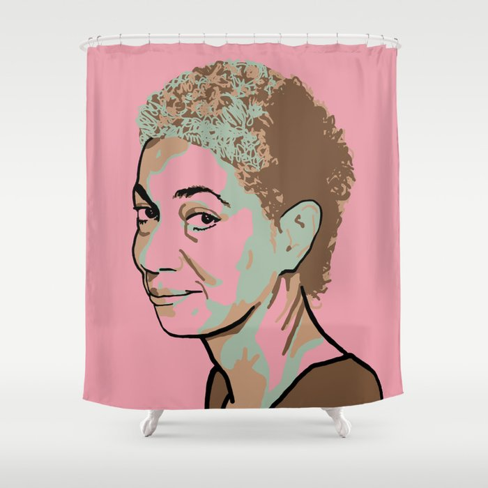 June Jordan Shower Curtain By Savant5