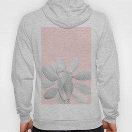 White Blush Cacti Vibes #1 #plant #decor #art #society6 Hoody