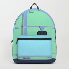 Art Deco Historic Architecture Berry Street 2020 Backpack