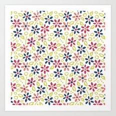 Matisse Floral Art Print