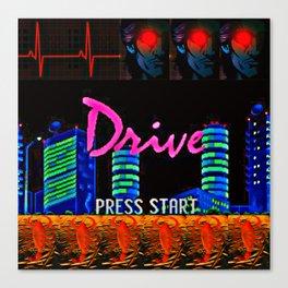 Nightcall Drive Canvas Print