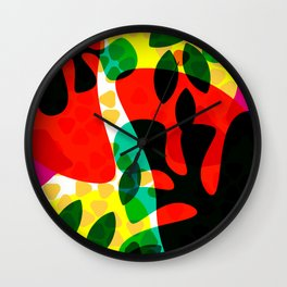 leafz Wall Clock