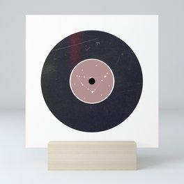 Vinyl Record Zodiac Sign Capricorn Mini Art Print