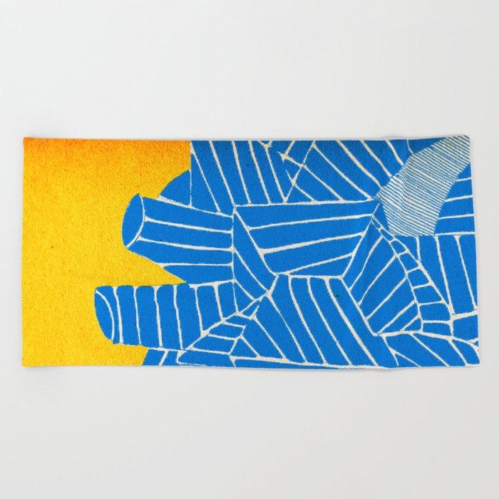 - be nuclear - Beach Towel