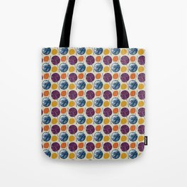 Leaves and yarns Tote Bag