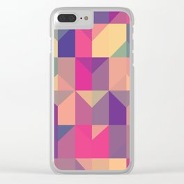 Turn The Beat Around Clear iPhone Case