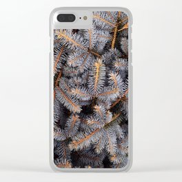 pine spikes #society6 #decor #buyart Clear iPhone Case