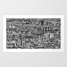 Cityscape - Granada Art Print