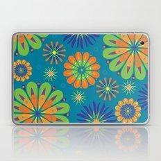 Psycho Flower Blue Laptop & iPad Skin