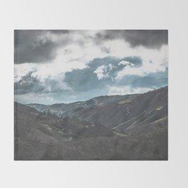 Zumbador Landscape Throw Blanket