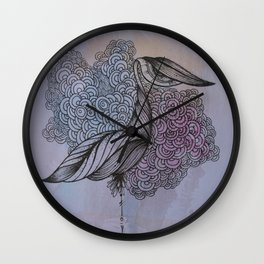 The Last to Fall Wall Clock