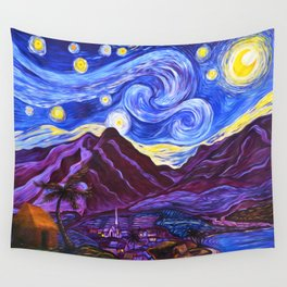 Maui Starry Night Wall Tapestry