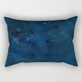 Watercolor NightSky Rectangular Pillow