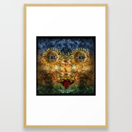 temporary beauty Framed Art Print