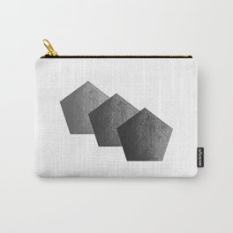 Pentágono gris Carry-All Pouch
