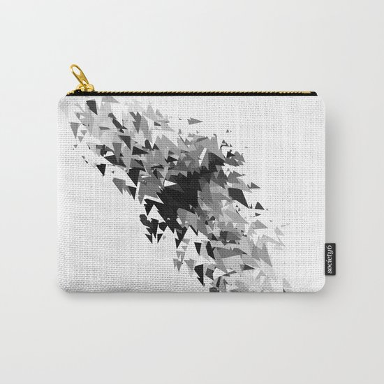 Triangles flow Carry-All Pouch
