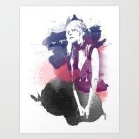 stevie nicks Art Prints featuring Stevie Nicks by 2b2dornot2b
