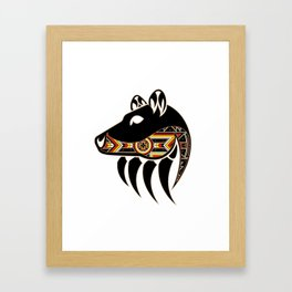 Bear Spirit Framed Art Print