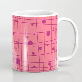 Woven Web pink Coffee Mug