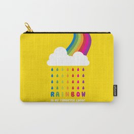 RAINBOW IS MY FAVORITE COLOR Carry-All Pouch