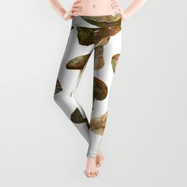 Mushroom Pattern Leggings