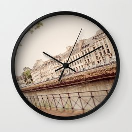 Canal View Wall Clock