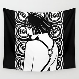 Harness Girl Wall Tapestry