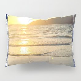 Port Erin - check graphic Pillow Sham