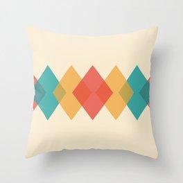 Rhombus Throw Pillow