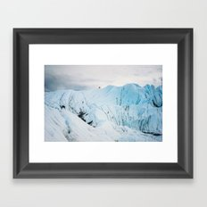 Frozen Trip Framed Art Print