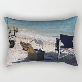 Trolling for Tackle Rectangular Pillow