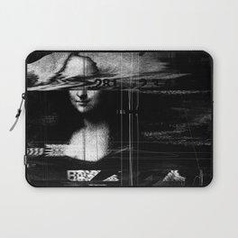 Mona Lisa Glitch Laptop Sleeve
