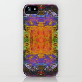 Cathedral Gorge Pattern iPhone Case