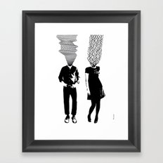 Neuro V3V4 Framed Art Print
