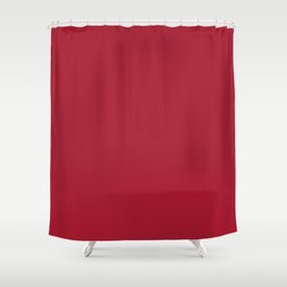 Atlanta Football Team Dark Red Mix and Match Colors Shower Curtain