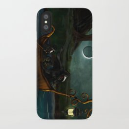 To Poveglia (The Plague Doctor) iPhone Case