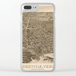 Knoxville 1886 Clear iPhone Case