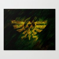 triforce Canvas Prints featuring Triforce by Ralf Crawford