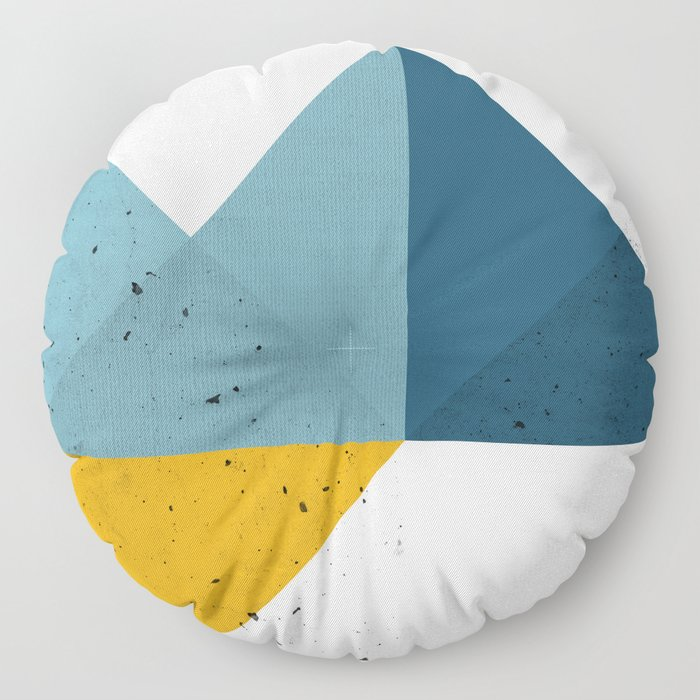 Modern Geometric 19 Floor Pillow