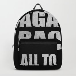 All Together Against Racism Human Rights Backpack