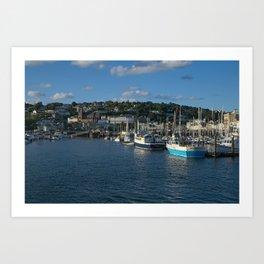 Torquay Harbour Art Print
