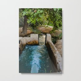 Water pumped Metal Print