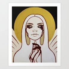 Angelique Art Print