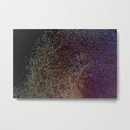Timed Explosive Metal Print