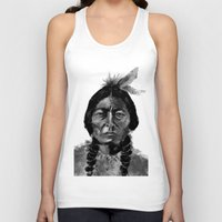 native Tank Tops featuring Native by Paul Claisse