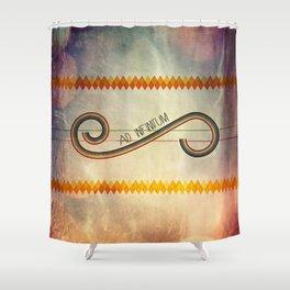 Ad Infinitum Shower Curtain