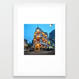 When old meets new Framed Art Print