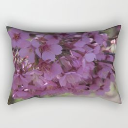 Prunus Spinosa - the signs of spring Rectangular Pillow