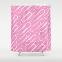 office Shower Curtains featuring Office soul by Tony Vazquez